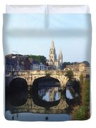 St. Finbarres Cathedral, Cork, Co Cork Duvet Cover
