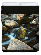St Francis River At Dusk II Duvet Cover