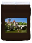 St Goncalo Cathedral Duvet Cover by Carlos Caetano