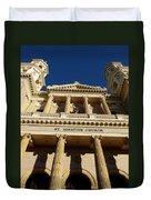 St. Ignatius Catholic Church Duvet Cover