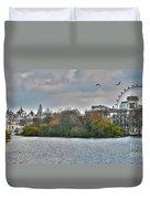 St. James Park In London Duvet Cover