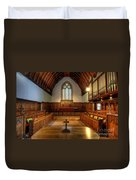St John's Church Altar - Filey  Duvet Cover
