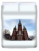 St. Josaphat Roman Catholic Church Detroit Michigan Duvet Cover by Gordon Dean II