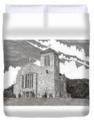 St. Joseph Apache Cathedral Duvet Cover