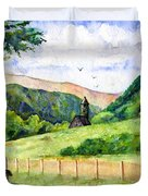 St. Kevin's And Wicklow Mountians Duvet Cover