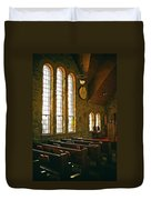 St Malo Church Duvet Cover