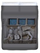 St. Marco And The Lion Duvet Cover