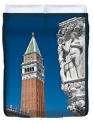 St Marks Tower Duvet Cover