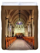St. Mary's Basilica Halifax Duvet Cover