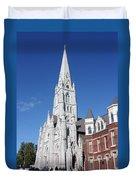 St. Mary's Basilica Duvet Cover by Kristin Elmquist