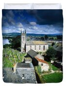 St Marys Cathedral, Co Limerick, Ireland Duvet Cover