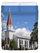 St Marys Catholic Church Dhfx001 Duvet Cover