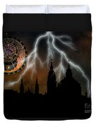 St Nikolas Church - Prague Duvet Cover