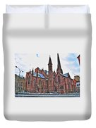 St. Paul S Episcopal Cathedral Duvet Cover