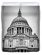 St. Paul's Cathedral In London Duvet Cover