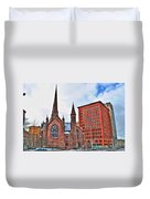 St. Paul's Episcopal Cathedral Duvet Cover