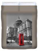 St Pauls Telephone Box Duvet Cover