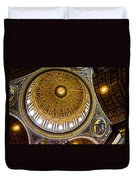 St Peter's Basilica Dome  Duvet Cover