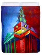St. Phillips Church Duvet Cover