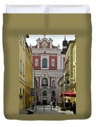 St Stanislaus Church Exterior Duvet Cover