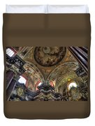 St Stanislaus The Bishop Church Duvet Cover