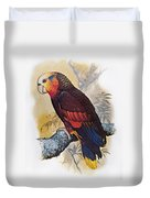 St Vincent Amazon Parrot Duvet Cover