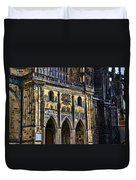 St Vitus Cathedral Entrance Duvet Cover