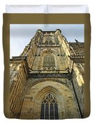 St Vitus Cathedral Prague - The Realms Of 'non-being' Duvet Cover