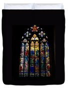 St Vitus Cathedral Stained Glass Duvet Cover