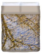 St Vrain River Reflection Duvet Cover