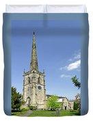 St Wystan's Church - Repton Duvet Cover