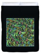 Stained Glass In Abstract Duvet Cover