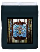 Stained Glass Lc 19 Duvet Cover by Thomas Woolworth