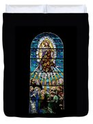 Stained Glass Pc 01 Duvet Cover