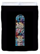 Stained Glass Pc 07 Duvet Cover