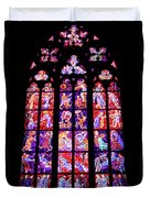 Stained Glass Window II Duvet Cover