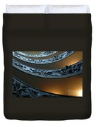 Staircase At The Vatican Duvet Cover by Bob Christopher