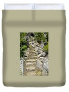 Staircase To Eagle Falls Lake Tahoe Duvet Cover
