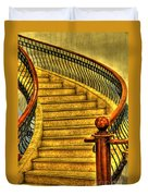 Stairs Hdr Processing Duvet Cover
