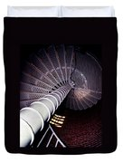 Stairs To The Light Duvet Cover by Skip Willits