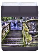 Stairway In Time Duvet Cover