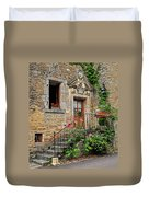 Stairway Provence France Duvet Cover