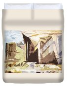 Stairway To Heaven Abstract Duvet Cover