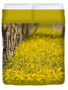 Stalks And Sunshine Duvet Cover
