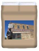 Standin On The Corner In Winslow Arizona Duvet Cover
