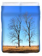 Standing Alone Together Duvet Cover