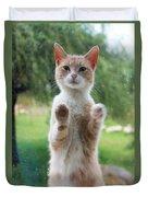 Standing Cat Duvet Cover