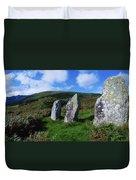 Standing Stone Alignment, Near Duvet Cover