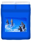 Standing To Attention Duvet Cover