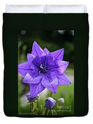 Star Balloon Flower Duvet Cover